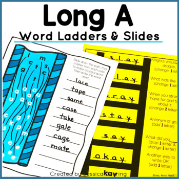 Word Ladders- Long A