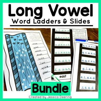 Word Ladders- Long Vowel Bundle