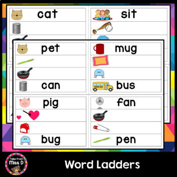 Word Ladders - Phoneme Substitution
