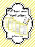 Word Ladders {Short Vowel Sounds}