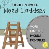 Word Ladders Short Vowels