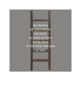 Word Ladders Spanish