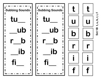 Word Ladders Substitute Sounds to Make New Words 2