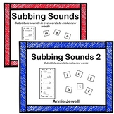Word Ladders Substitute Sounds to Make New Words BUNDLE