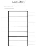 Word Ladders Template