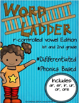Word Ladders: Vowel Consonant e Edition (1st and 2nd grade)