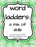 Word Ladders: Vowel Digraph Mix (2nd and 3rd grade)