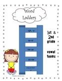 Word Ladders-Vowel Teams
