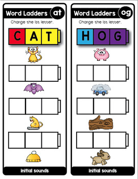 Word Ladders and Snap Cubes