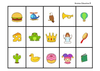 Word Letter Picture Number Sentence Sorting Cards