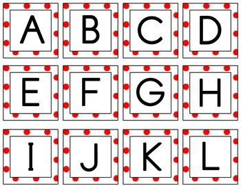 Word / Letter Sort -  Alphabet Squares for Sequencing and Matching