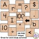 Word Tile Clip Art with 105 PNG images for Commercial or P