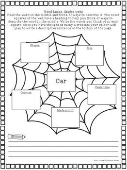 Word Links- vocabulary building activities