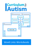 Vocabulary Categories Associations Autism Special Education