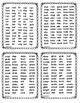 Word Lists for Phoneme Segmentation