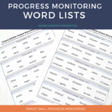 Word Lists for Progress Monitoring