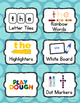 Word Making Center Labels & Task Card {Word Work}