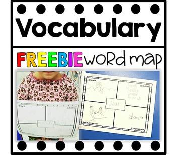 Kindergarten Word Map