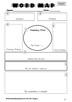 Word Map for Primary Kids