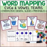 Word Mapping - Connecting Phonemes to Graphemes - CVCe & V