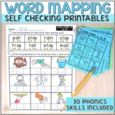 Word Mapping Worksheets - Connecting Phonemes to Graphemes