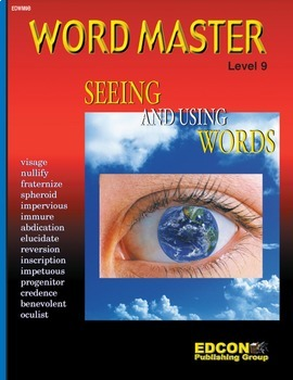 Word Master Vocabulary Seeing and Using Words RL 6.0-10.0
