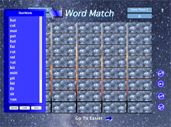Word Match Concentration Game by George Wood (Mac)