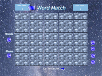 Word Match Concentration Game by George Wood (Win)