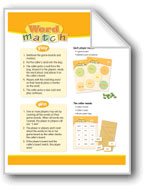 Word Match (High-Frequency Words: Center Games, Level A)