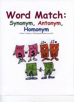 Word Match: Synonym, Antonym, Homonym