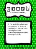 Word Matching (g r i c h)