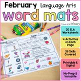 February Word Work