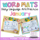 Word Work Activities for January   Distance Learning   Pri