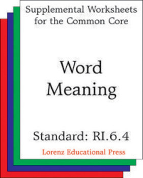 Word Meaning (CCSS RI.6.4)