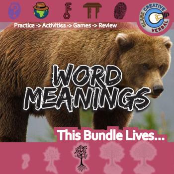 Word Meanings -- ELA Unit Bundle