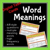 Word Meanings from Context Clues BOOM Digital Task Cards