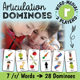 Word-Medial/Intervocalic R for Speech Therapy - Articulation Dominoes
