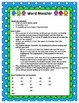 Word Monster Game {A Word Family Game}