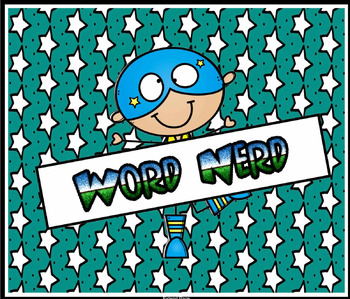 Word Nerd: Introduction