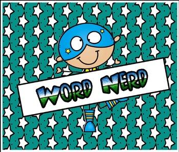 Word Nerd: Verbs