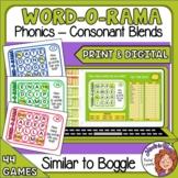 Word O Rama   Like Boggle   Cards and Google Slides   Phon