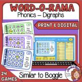 Word O Rama   Similar to Boggle   Cards and Google Slides