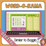 Word-O-Rama Similar to Boggle Google Classroom Distance Le