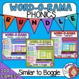 Word O Rama   Similar to Boggle   Phonics Bundle