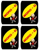 Word-O ( similar to Uno) Cards - Grade 1 Sight Words Edition