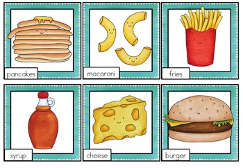 Pick a Partner Student Grouping Food Pairs