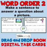 Word Order 2 - Making Sentences to Answer a Question BOOM