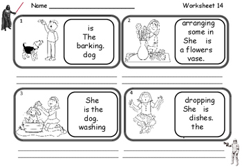 Word Order for EAL / ESL / ELL