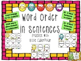 Word Order in Sentences - Practice with Little Caterpillar