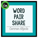 PARTNER GAME: common objects